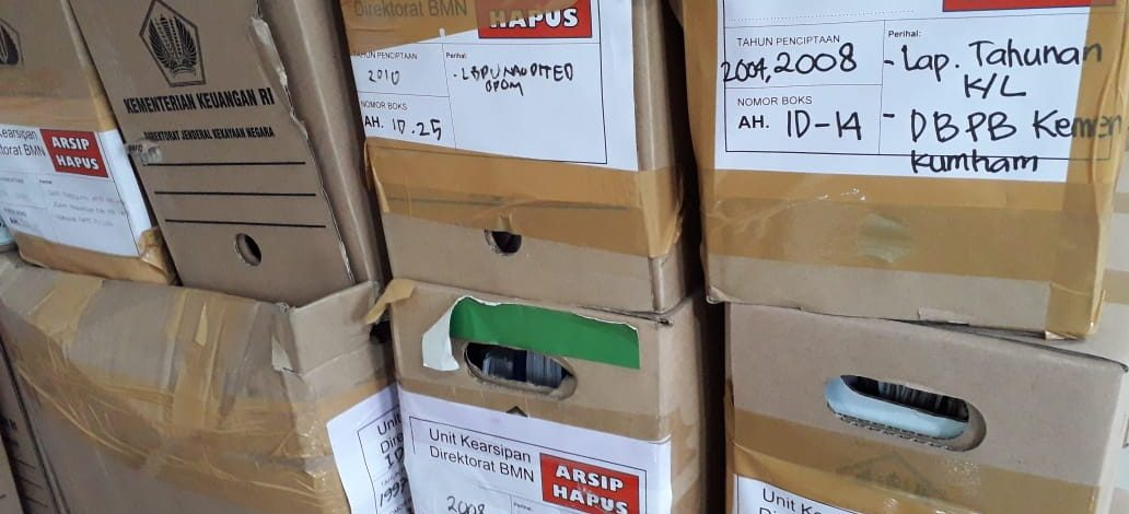 Pemusnahan Kertas Arsip (Document Extermination)